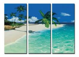 fascinating beach modern canvas art wall decor seascape oil painting wall art with stretched on beach framed canvas wall art with fascinating beach modern canvas art wall decor seascape oil painting