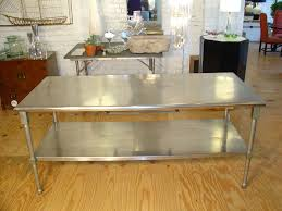 Simple Kitchen Island Stainless Steel Kitchen Islands Kitchen Design Ideas