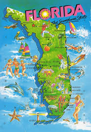 florida attractions map  my blog
