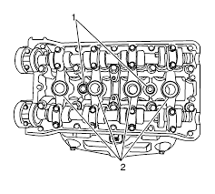 Array repair instructions off vehicle cylinder head cleaning and rh repairprocedures