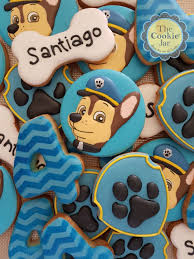 How To Decorate A Cookie Jar Paw Patrol Decorated Cookies By The Cookie Jar 88