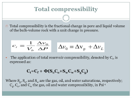 compressibility definition. 10. total compressibility definition l