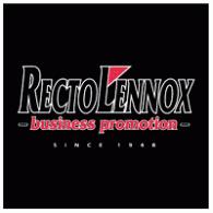 lennox logo. recto lennox bv; logo of bv