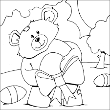Holiday and seasonal coloring pages for kids. Cute Disney Easter Coloring Pages