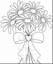 Small Picture Excellent daisy flower coloring pages with daisy coloring pages