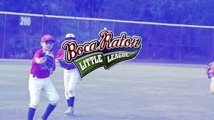 Boca Raton Little League Baseball