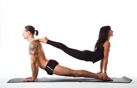 12 easy yoga poses for two people