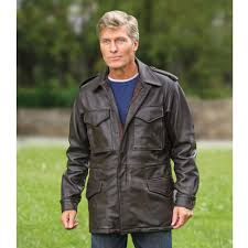 the leather m65 field jacket