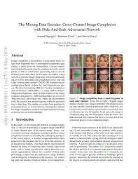Encoder Cross Reference Chart The Missing Data Encoder Cross Channel Image Completion