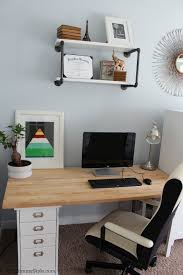 family home office. His Desk, Family Office And Guest Room, IKEA, Mymommystyle.com, Modifyink Home I