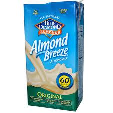 blue diamond almond breeze almond milk original 64 fl oz 1 89