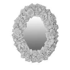 Pure Design Naples Capodimonte Ceramic Wall Mirror