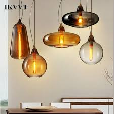senarai harga ikvvt modern simple shape a b c glass pendant lights with wood white glass lighting for dining room restaurant e27 pendant light terkini