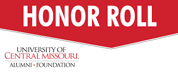 Honor Roll Donors in Action P-R - UCM Alumni Foundation