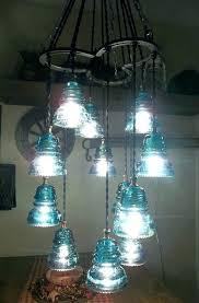 insulator pendant light antique insulator pendant light horse shoe glass chandelier fixture an original lights glass