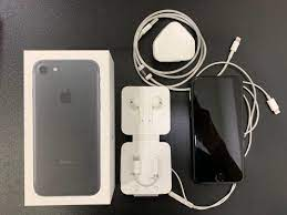 Iphone 7 128GB fullbox with original accessories My set, Mobile Phones &  Tablets, iPhone, iPhone 7 Series on Carousell