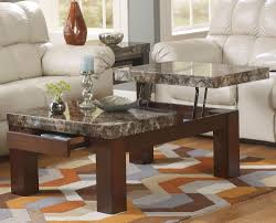 Living Room Table Decor Furniture Chick Back Patio Furniture With Wood Coffee Table