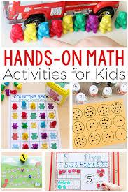 Five Senses Worksheets for Kindergarten Math Activities for Kids
