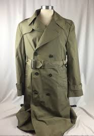 us army mens trench coat all weather 8405 01 107 0235 zipout liner 36r military