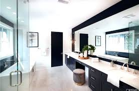 modern master bathroom shower modern master bathroom ideas the master bathroom is complete with a deep modern master bathroom