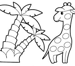 Pictures Of Animals To Color Simple Animal Coloring Pages How To