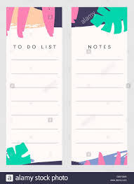 Notes Template Printable Printable Notes And To Do List Template Designs Decorated
