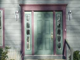 Funky Entry Door with Sidelights » Home Decorations Insight