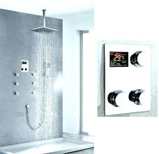 moen electronic shower systems shower electronic shower system digital electric systems multi function thermostatic display country home ideas home