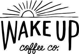 Good morning, wake up coffee cup hand drawing. Wake Up Coffee Company