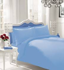 best bedding just you like plain dyed duvet cover with pillow case classy ideas light blue