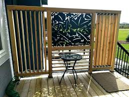simple privacy screen porch patio with diy outdoor privacy screen outstanding patio ideas