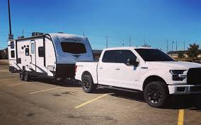 travel trailer can a f 150 pull