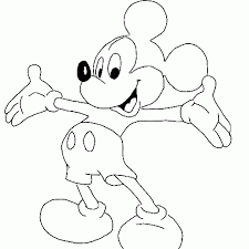 Dessin De Coloriage Mickey Mouse Imprimer Cp17926