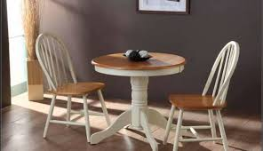 dining chairs round small argos seater delectable bistro sets kitchen table compact white for and glass