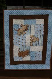 Clown fabric that I found in a thrift shop in Tulsa OK. My first ... & Peeking Dogs - with Stippling. Adamdwight.com