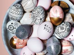 Easter Egg Designs Ideas Modern Easter Egg Decorating Ideas That Take Minimal Effort