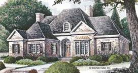 Architectual StylesFrench Country Ranch Style House Plans