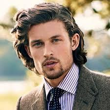 Hairstyles For Long Hair Men Leymatson Com