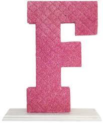 Decorating Letter F Pink Souq Egypt