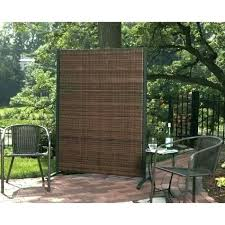 patio partition privacy screen portable outdoor single wicker for partitions