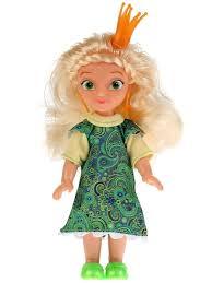 <b>Кукла Царевны Василиса</b> 15 см, в блистере <b>Карапуз</b>. <b>Карапуз</b> ...