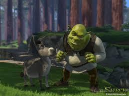 CMTLGAQ Adriano Ballowe: QUARTA-FEIRA : CLÁSSICOS DA ANIMAÇÃO , DREAMWORKS  , LONGA-METRAGEM DE ANIMAÇÃO ... SHREK , Aventura , fantasia e  principalmente comédia , são os elementos dessa animação da DreamWorks que  encantou o mundo .