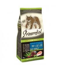 <b>Корм</b> для кошек <b>Primordial</b> Adult Cat Holistic Salmon Tuna Grain Free