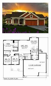 one story ranch house plans beautiful e story ranch style house plans 1 floor 3 bedroom