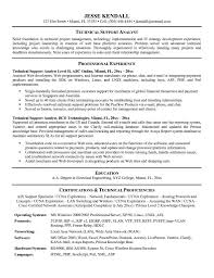 Resume Samples For Experienced Technical Support Refrence Resume