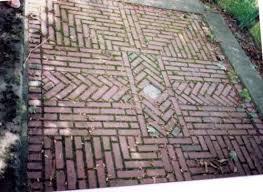 Brick Patio Patterns Custom Reclaimed Brick Tile Patterns From Ordinary To Extraordinary