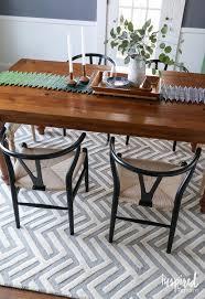 rug under round kitchen table. Exclusive Tips For Decorating With Rug Under Kitchen Table On Interior Decor Home Ideas Round P