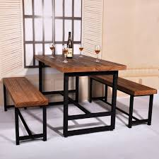 office dining table. American Country Wood Dining Table Domestic Iron Cafe Office A