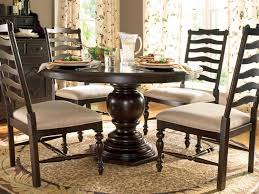 paula deen home 72 x 54 round pedestal dining table