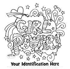 Daisy Girl Scout Coloring Page Scouts Pages Law I Am A Mtkguideme
